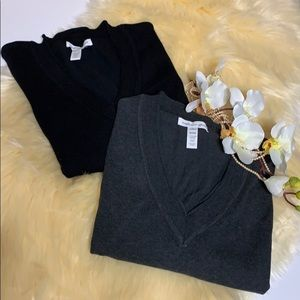Lot of 2 Ambience Apparel Woman's Blouses
